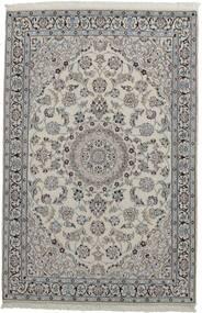 Nain 9La Matto 116X178 Itämainen Käsinkudottu Vaaleanharmaa/Tummanharmaa (Villa/Silkki, Persia/Iran)