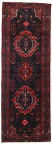Hamadán Szőnyeg 105X302 Keleti Csomózású Sötétbarna/Sötétpiros (Gyapjú, Perzsia/Irán)