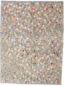 Kilim Afghan Old Style Rug 179X234 Authentic  Oriental Handwoven Light Grey (Wool, Afghanistan)