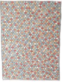 Kelim Afghan Old Style Matto 174X231 Itämainen Käsinkudottu Vaaleanharmaa/Valkoinen/Creme (Villa, Afganistan)