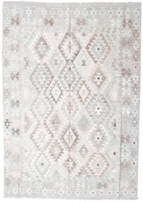 Kilim Afghan Old Style Rug 176X248 Authentic  Oriental Handwoven Light Grey/Beige (Wool, Afghanistan)