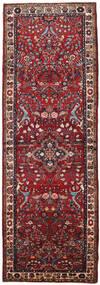 Mehraban Rug 108X316 Authentic  Oriental Handknotted Hallway Runner  Dark Red/Brown (Wool, Persia/Iran)
