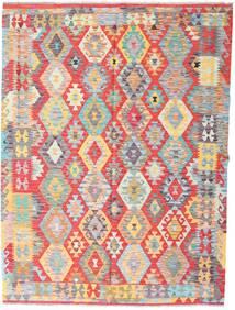 Kelim Afghan Old Style Vloerkleed 177X235 Echt Oosters Handgeweven Lichtgrijs/Roestkleur (Wol, Afghanistan)
