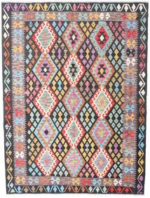 Kilim Afghan Old Style Rug 176X236 Authentic  Oriental Handwoven Dark Grey/Light Purple (Wool, Afghanistan)