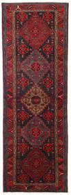 Hamadan Χαλι 104X309 Ανατολής Χειροποιητο Χαλι Διαδρομοσ Σκούρο Κόκκινο/Μαύρα (Μαλλί, Περσικά/Ιρανικά)