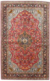 Sarough Szőnyeg 133X217 Keleti Csomózású Sötétpiros/Fekete (Gyapjú, Perzsia/Irán)