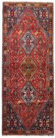 Ghashghai Teppich 106X275 Echter Orientalischer Handgeknüpfter Läufer Dunkelrot/Dunkelbraun (Wolle, Persien/Iran)
