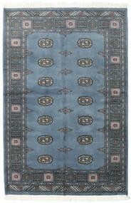 Pakistan Bokhara 2Ply Matto 125X188 Itämainen Käsinsolmittu Sininen/Tummanharmaa (Villa, Pakistan)