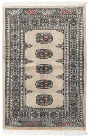 Pakistan Bokhara 2Ply Rug 79X117 Authentic  Oriental Handknotted Light Grey/Dark Grey/Beige (Wool, Pakistan)