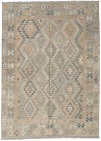 Kilim Afghan Old Style Rug 177X243 Authentic  Oriental Handwoven Light Grey (Wool, Afghanistan)