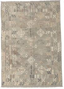 Kilim Afghan Old Style Rug 175X246 Authentic  Oriental Handwoven Light Grey (Wool, Afghanistan)