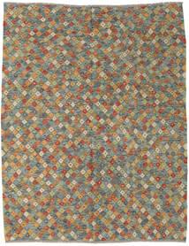 Kilim Afgán Old Style Szőnyeg 185X235 Keleti Kézi Szövésű Világosszürke/Sötétszürke (Gyapjú, Afganisztán)