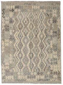 Kilim Afgan Old Style Dywan 187X290 Orientalny Tkany Ręcznie Jasnoszary (Wełna, Afganistan)