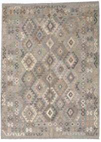 Kilim Afghan Old Style Rug 183X250 Authentic  Oriental Handwoven Light Grey (Wool, Afghanistan)