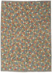 Chilim Afghan Old Style Covor 173X238 Orientale Lucrate De Mână (Lână, Afganistan)