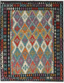 Kelim Afghan Old Style Vloerkleed 189X240 Echt Oosters Handgeweven (Wol, Afghanistan)