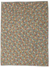 Kilim Afgán Old Style Szőnyeg 208X291 Keleti Kézi Szövésű Sötétszürke/Világosszürke (Gyapjú, Afganisztán)