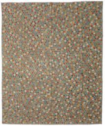 킬림 아프가니스탄 올드 스타일 러그 275X330 정품  오리엔탈 수제 다크 그레이/올리브 그린 대형 (울, 아프가니스탄)