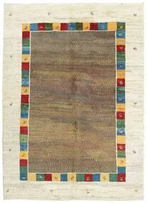 Gabbeh Persia Tappeto 175X243 Moderno Tessuto A Mano Beige/Marrone Chiaro (Lana, Persia/Iran)