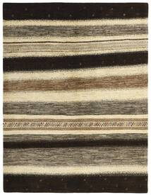 Gabbeh Persia Tappeto 154X204 Moderno Tessuto A Mano Nero/Marrone Chiaro (Lana, Persia/Iran)