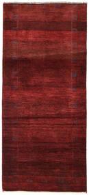 Gabbeh Persia Tappeto 83X184 Moderno Fatto A Mano Alfombra Pasillo Rosso Scuro/Marrone Scuro (Lana, Persia/Iran)