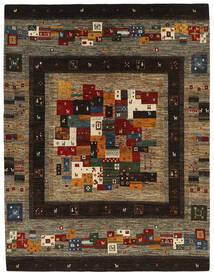 Gabbeh Persia Alfombra 159X208 Moderna Tejida A Mano Gris Oscuro/Marrón Claro (Lana, Persia/Irán)