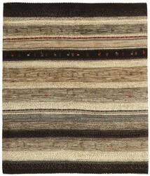 Gabbeh Persia Tappeto 164X191 Moderno Tessuto A Mano Marrone Scuro/Marrone Chiaro (Lana, Persia/Iran)