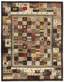 Gabbeh Persia Tappeto 157X206 Moderno Tessuto A Mano Marrone Scuro/Marrone Chiaro (Lana, Persia/Iran)