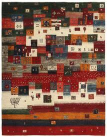 Gabbeh Persia Tappeto 167X213 Moderno Tessuto A Mano Rosso Scuro/Nero (Lana, Persia/Iran)