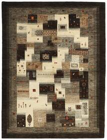 Gabbeh Persia Rug 161X213 Authentic  Modern Handwoven Dark Brown/Light Brown (Wool, Persia/Iran)