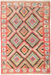 Kilim Afgán Old Style Szőnyeg 210X307 Keleti Kézi Szövésű (Gyapjú, Afganisztán)