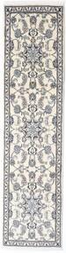 Nain Teppe 74X295 Ekte Orientalsk Håndknyttet Teppeløpere (Ull, Persia/Iran)