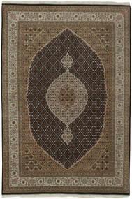 Tabriz Royal Rug 166X238 Authentic  Oriental Handwoven Dark Brown/Brown ( India)