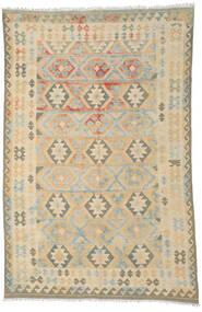 Kilim Afghan Old Style Rug 198X296 Authentic  Oriental Handwoven Beige/Dark Beige (Wool, Afghanistan)