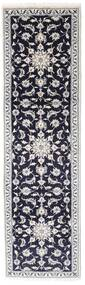 Nain Rug 80X282 Authentic  Oriental Handknotted Hallway Runner  (Wool, Persia/Iran)