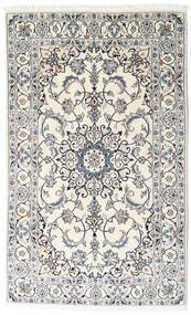 Nain Rug 120X195 Authentic  Oriental Handknotted Beige/Light Grey (Wool, Persia/Iran)