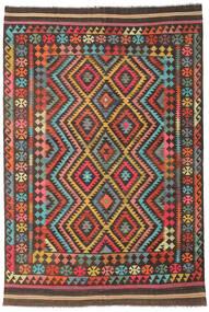 Kilim Afgán Old Style Szőnyeg 204X303 Keleti Kézi Szövésű (Gyapjú, Afganisztán)