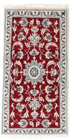 Nain Rug 70X135 Authentic  Oriental Handknotted (Wool, Persia/Iran)
