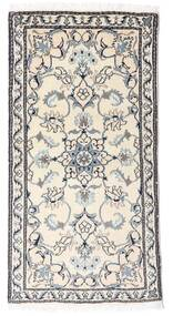 Nain Rug 70X140 Authentic  Oriental Handknotted (Wool, Persia/Iran)