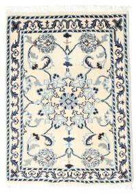 Nain Tappeto 60X90 Orientale Fatto A Mano Bianco/Creme/Beige (Lana, Persia/Iran)