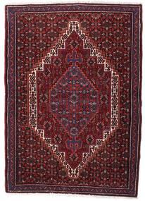 センネ 絨毯 74X105 オリエンタル 手織り 深紅色の (ウール, ペルシャ/イラン)