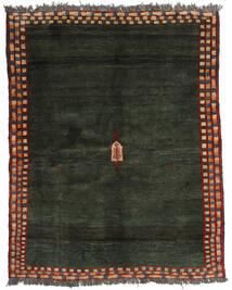 Gabbeh Rustic Rug 176X223 Authentic Modern Handknotted Dark Green (Wool, Persia/Iran)