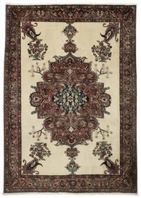 Baktjar Dywan 222X308 Orientalny Tkany Ręcznie Ciemnobrązowy/Ciemnobeżowy (Wełna, Persja/Iran)