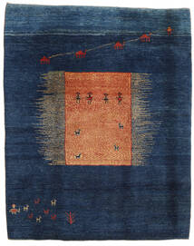 Gabbeh Rustic Teppich 229X287 Echter Moderner Handgeknüpfter Dunkelblau/Blau (Wolle, Persien/Iran)
