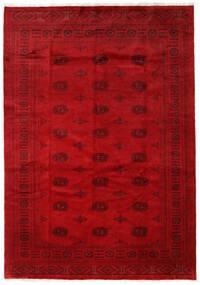 Pakistan Bokhara 3Ply Teppe 205X293 Ekte Orientalsk Håndknyttet Rød/Mørk Rød (Ull, Pakistan)