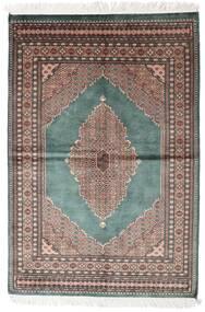 Pakistan Bokhara 3Ply Sag 142X208 Autentični  Orijentalni Ručno Uzlan Tamnosiva/Bijela/Krem (Vuna, Pakistan)