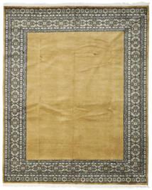 パキスタン ブハラ 3Ply 絨毯 200X247 オリエンタル 手織り オリーブ色/黄色 (ウール, パキスタン)