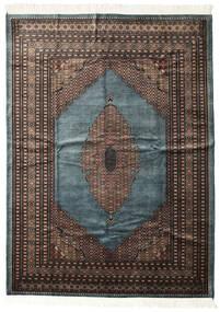 パキスタン ブハラ 3Ply 絨毯 207X284 オリエンタル 手織り 濃いグレー/黒 (ウール, パキスタン)