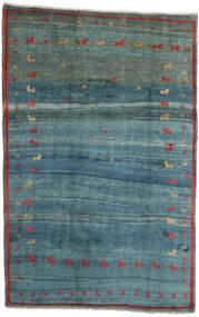 Gabbeh Rustic Tappeto 184X284 Moderno Fatto A Mano Blu Turchese/Blu (Lana, Persia/Iran)