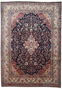 Hamadan Covor 266X372 Orientale Lucrat Manual Mov Închis/Gri Deschis Mare (Lână, Persia/Iran)
